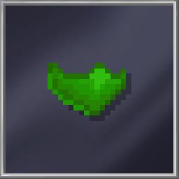 Green Face Scarf