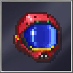 Red PWR Helmet