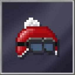 Santa's Racing Helmet