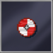 Red Viking Shield