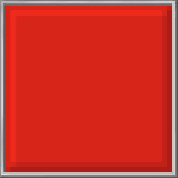 Pixel Block - Red