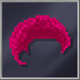 Pink Afro Hair