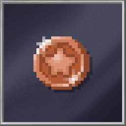 Bronze Bubblegum Token