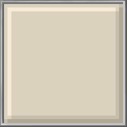 Pixel Block - Albescent White
