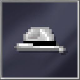 White Fedora