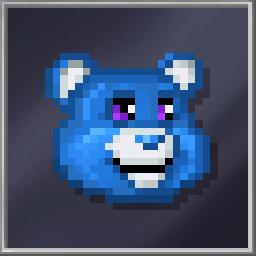 Blue Teddy Head