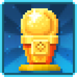 Golden Cone Statue