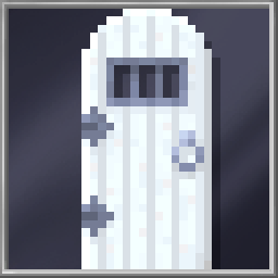 White Dungeon Door
