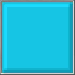 Pixel Block - Cyan
