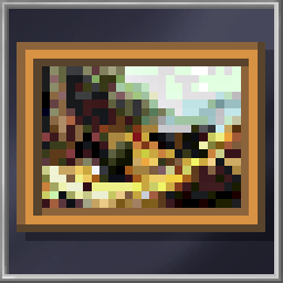 Large Classic Painting