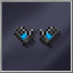 Blue Ninja Gloves