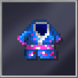 Blue Geisha Dress