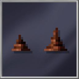Brown Stalagmites