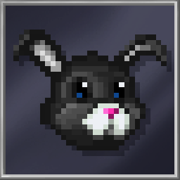 Dark Bunny Mask
