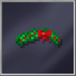 Holly Wreath Hat