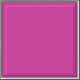 Pixel Block - Brilliant Rose