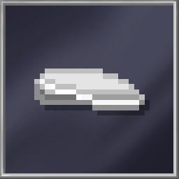 White Flat Cap