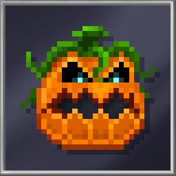Pumpkin Warrior Mask