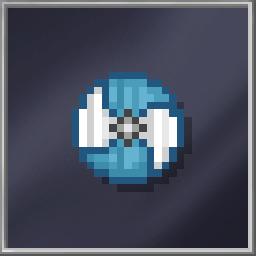 Blue Viking Shield