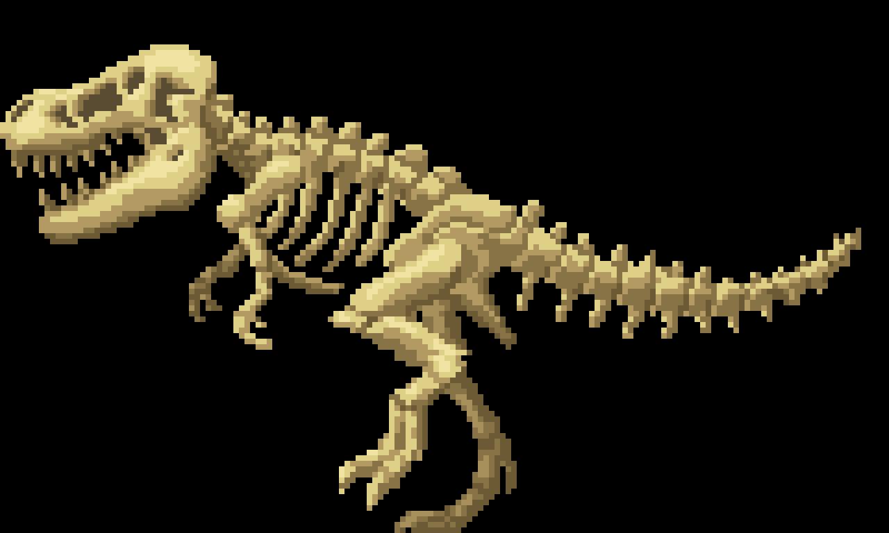 T-Rex Fossil - part1