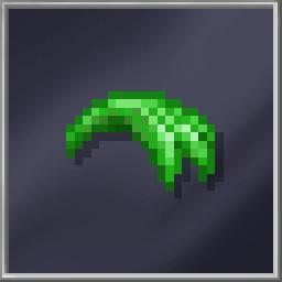 Fringe Spiky Green