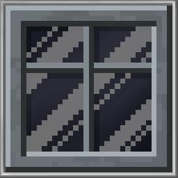 Tinted Window Frame