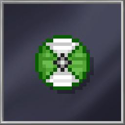 Green Viking Shield