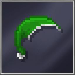 Green Xmas Beanie