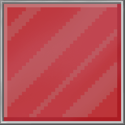 Red Glass Tile