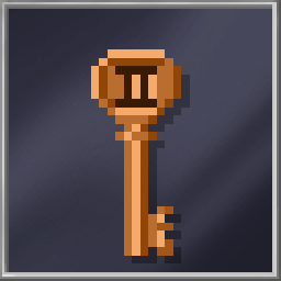 Bronze Mine Key (LVL 2)