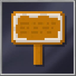 Gingerbread Sign