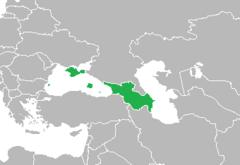 Location of Eurasian Federation
