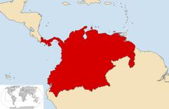 Location of Empire of Antioquia