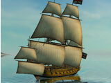 'Discovery' Privateer Frigate