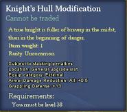 Knight's Hull Modification