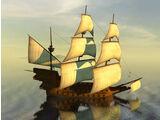 'San Mateo' Stripped Galleon