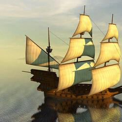 'San Mateo' Galleon