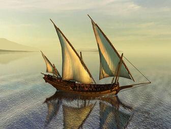 Picture of a 'Corsair' Schebecke