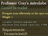 Professor Cray's Astrolabe