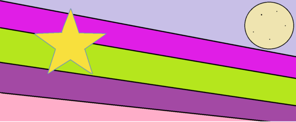 The Holy Flag, the flag for the kingdom.
