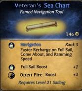 Veteran's Sea Chart