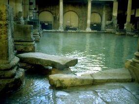 Roman Bath room