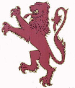 The Lion of England!