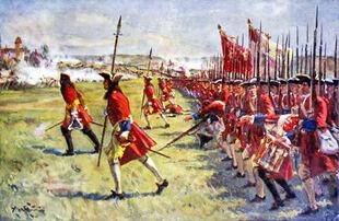 British Line Infanty March