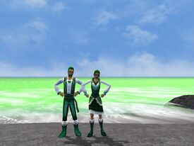 Kat and Stpehen Green