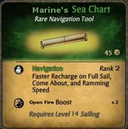 Marine's Sea Chart