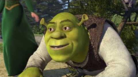 Shrek but everytime someone blinks it gets faster