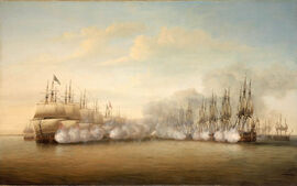 The Line of Cannon Fire