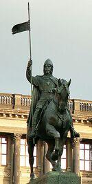 Templar Statue