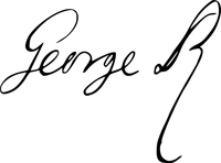 353px-Firma del Rey George II.png